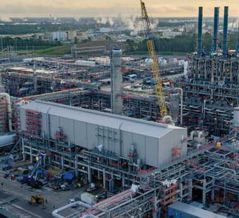 Construction of Petrochemical plants
